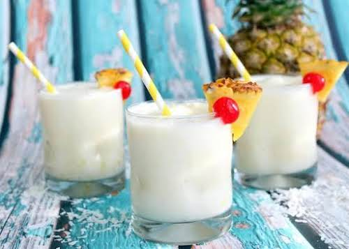"""Peg's Pina Colada Punch""""The early 90's, I had this delicious punch at..."""