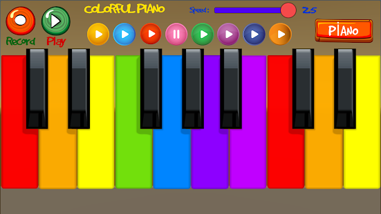 Colorful Piano- screenshot thumbnail