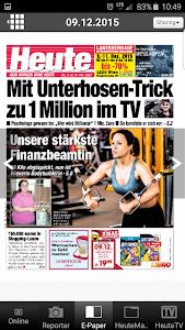 Heute - Die Tageszeitung screenshot 2
