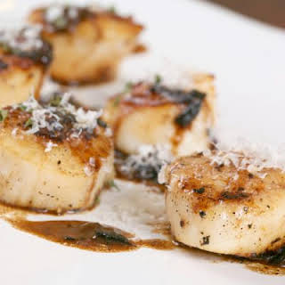 Slow Cooked Scallops.