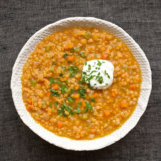 Curried Lentil Soup.