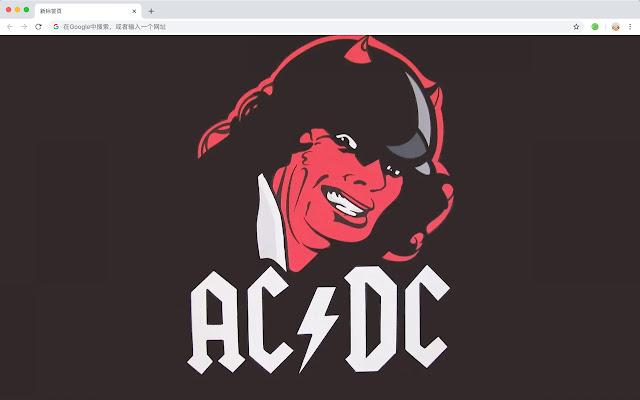 AC/DC Rock Star HD Wallpaper New Tag Theme