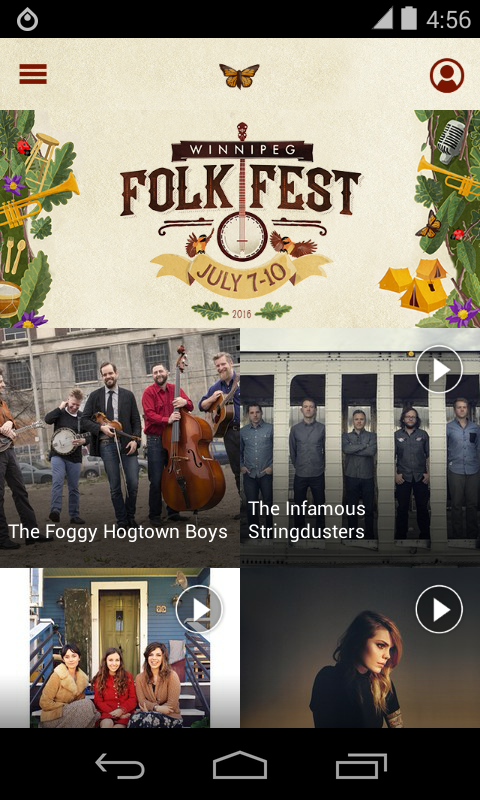 Winnipeg Folk Fest 2016- screenshot
