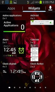 Flare Pink Rose LWP screenshot 2