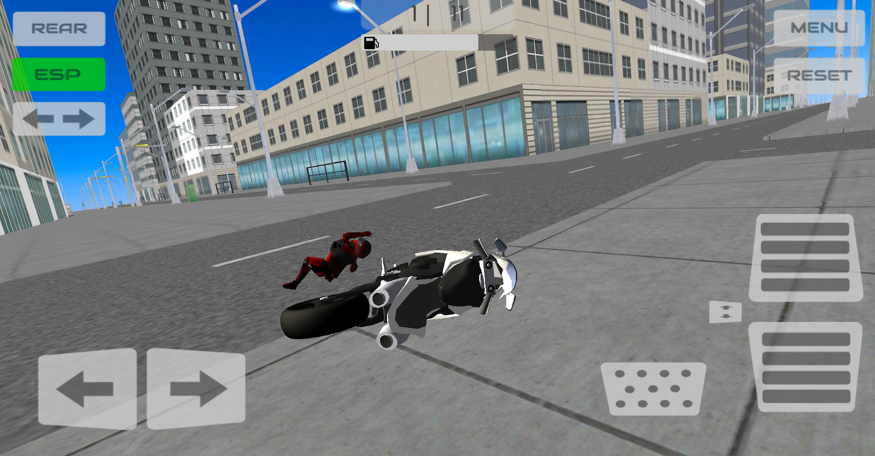 Turbo Motobike Driver- screenshot
