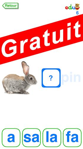 Apprendre à Lire - Syllabique - Gratuit Android App Screenshot