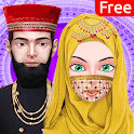 Hijab Boy & Girl Wedding: Arrange Marriage Rituals icon