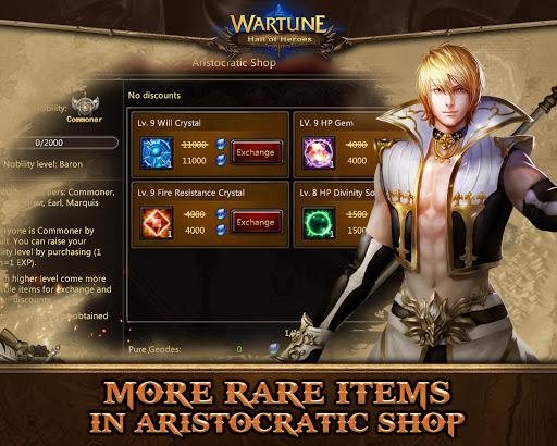 Wartune: Hall of Heroes 7.3.1 screenshots 9