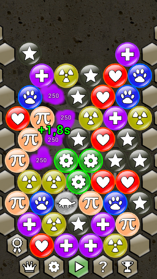 Bumpy Balls Match 4 Free- screenshot