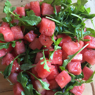 Paleo Watermelon Arugula Salad Recipe