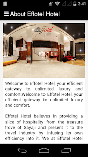 Effotel Hotel- screenshot thumbnail
