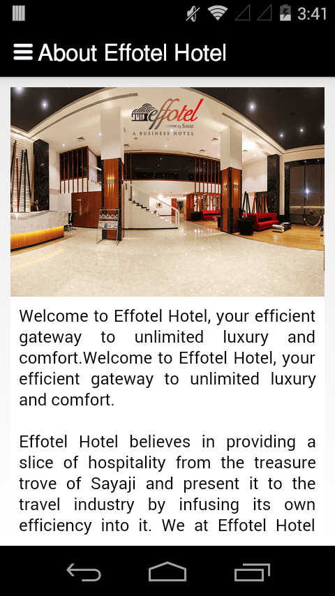 Effotel Hotel- screenshot