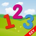 Mathematics and figures KEY icon