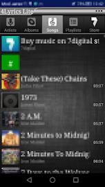 4Lyrics Lite Screenshot 8