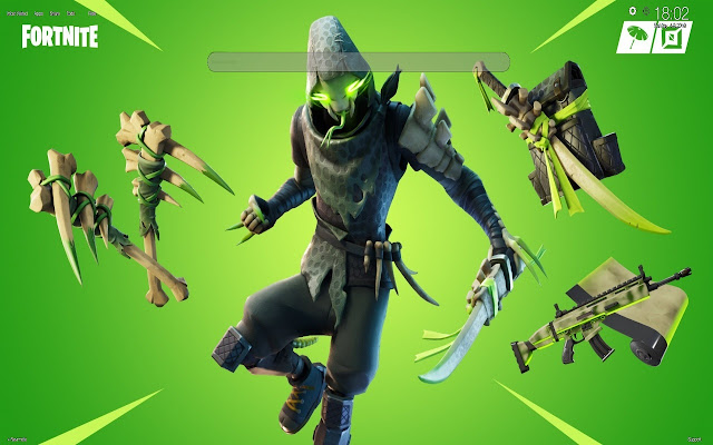 Sklaxis Fortnite Skin Wallpapers Tab