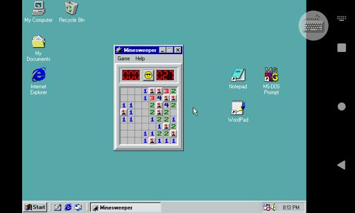 Win 98 Simulator 1.4.1 screenshots 3