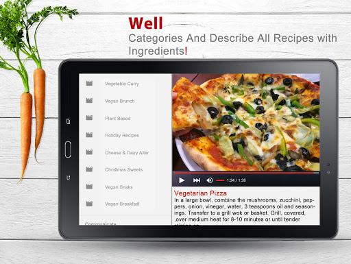 Tasteful Vegan Recipes 1.9 screenshots 3
