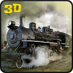Military Cargo Train Driver 3D