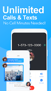 Telos Free Phone Number & Unlimited Calls and Text 1
