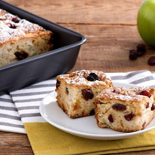 Apple Sun Dried Cherry Coffeecake