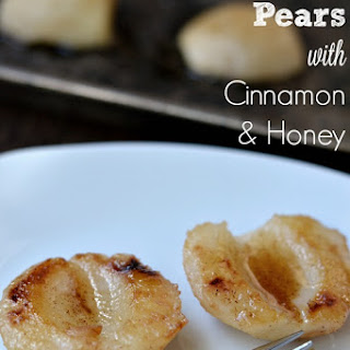 Baked Pears with Cinnamon Honey