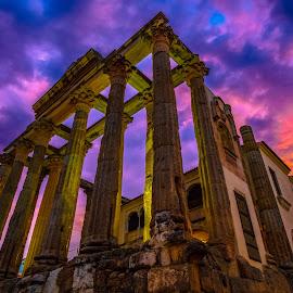 templo romano de Diana, Mérida by Phoenix One - Buildings & Architecture Statues & Monuments