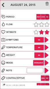Menstrual Period Tracker- screenshot thumbnail