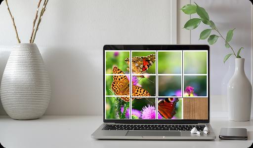 Butterfly Puzzle Jigsaw (Rompecabezas de mariposa) android2mod screenshots 8