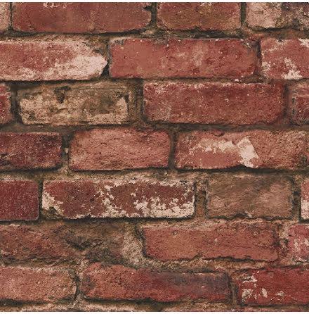 Fine Decor tegelvägg tapet FD31285 - Röd