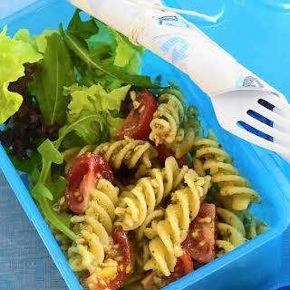 Lunchbox Pesto Pasta Salad.