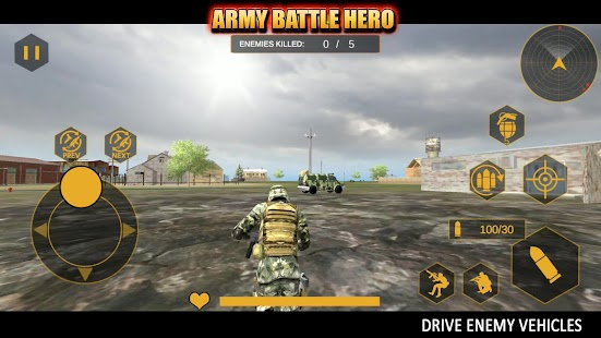Indian Army Battle Hero : TPS Offline Shooter Screenshot