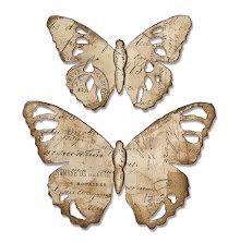 Tim Holtz Sizzix Bigz Die - Tattered Butterfly 19-01