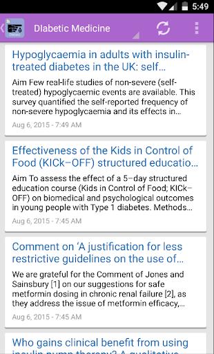 Diabetes Journal Feeds|玩醫療App免費|玩APPs