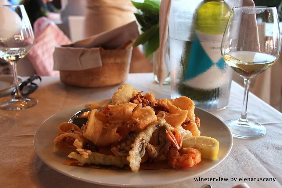 fritto di mare, fiumara beach, seafood
