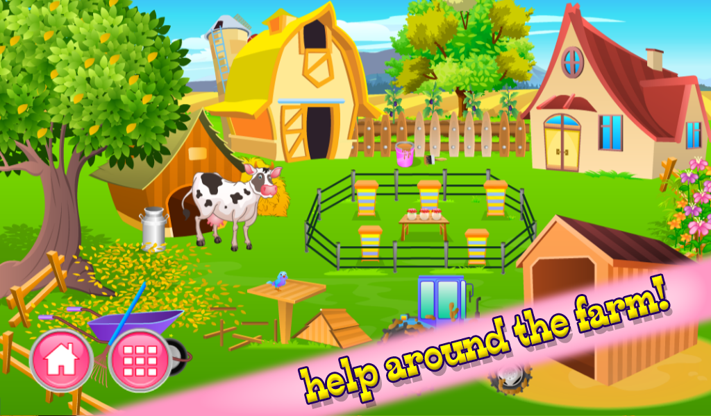 My animal farm house story 2 android apps on google play for Animal decoration games for girls