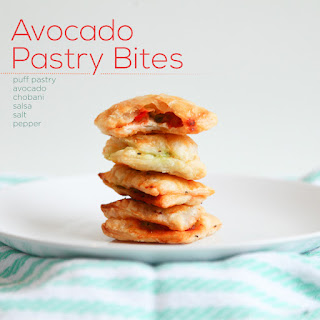 Avocado, Salsa, & CHO Puff Pastries