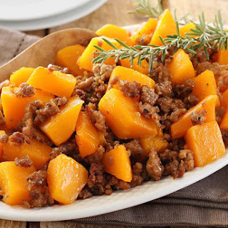 Baked Butternut Squash With Sausage Recipes