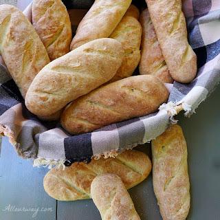 Crusty Italian Sandwich Rolls