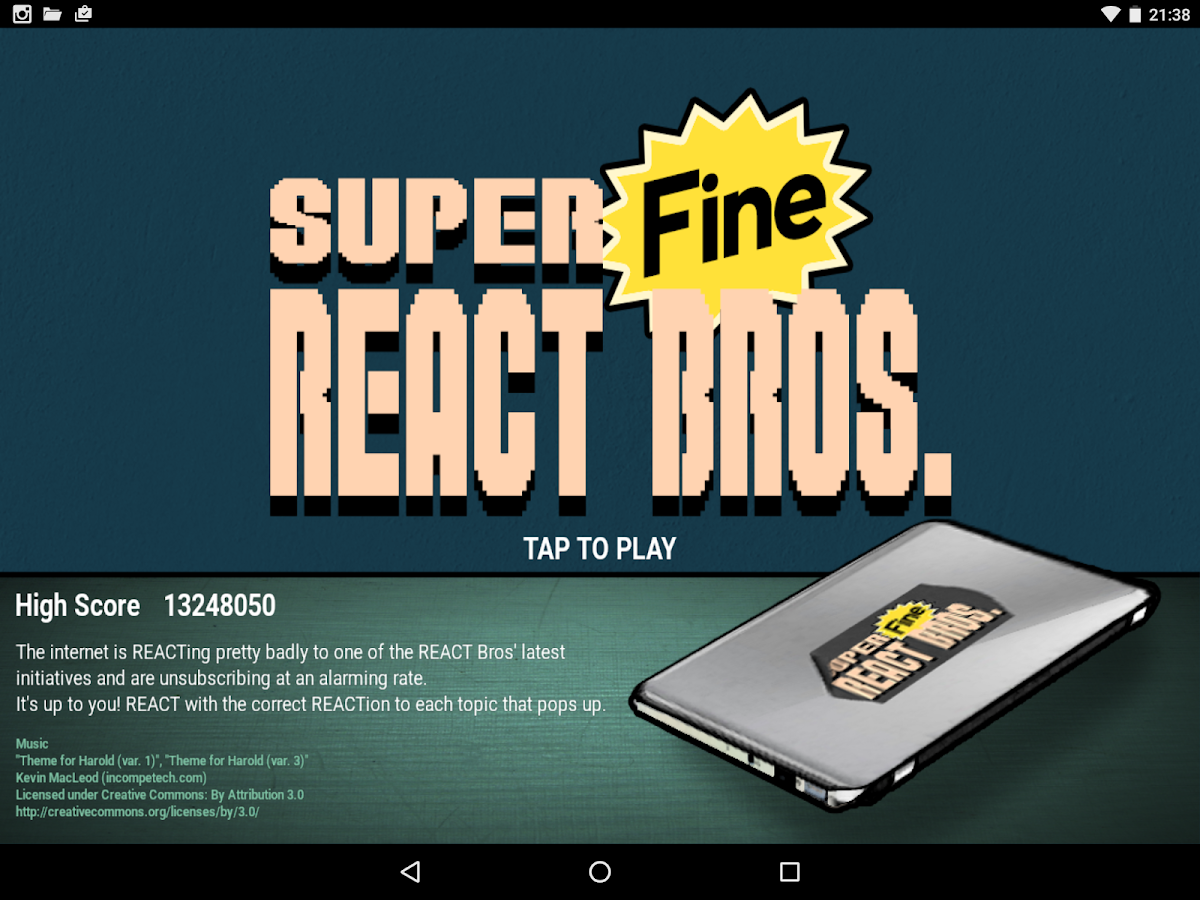 Super Fine React Brothers- screenshot