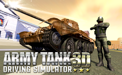 Army Tank Driving Simulator 3D - náhled