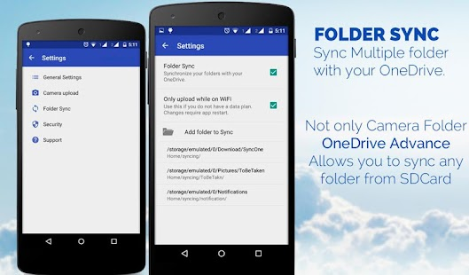 OneDrive Advance (SkyDrive) - screenshot thumbnail
