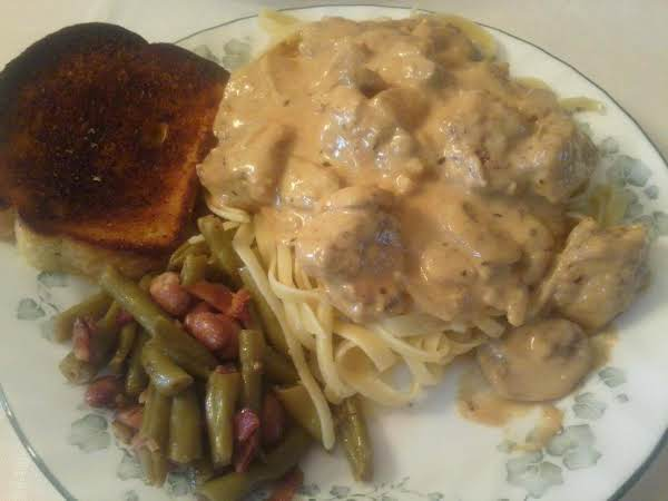 Chicken Dijon Fettuccine Recipe