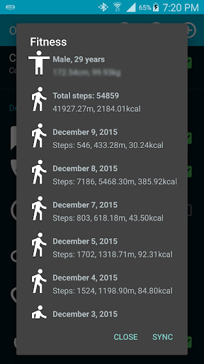 Open Fit: Open Source Gear Fit 1.10.2 screenshots 4