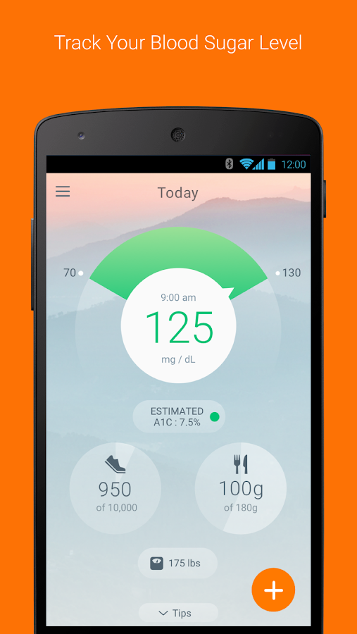 Sugar Sense - Diabetes App- screenshot
