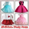 Children Party Dress icon