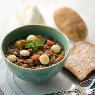 Hearty Carrot-Potato Lentil Soup