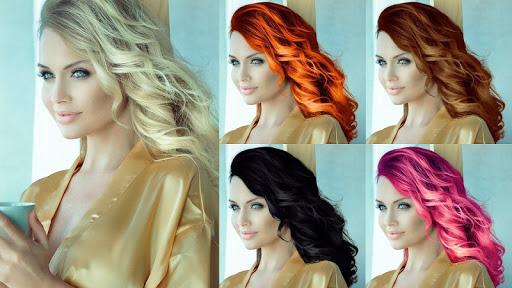 Easy Hair Color Changer 1.0.0 screenshots 6