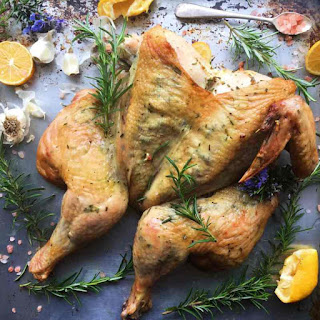 Rosemary, Lemon, and Garlic Grilled Chicken.