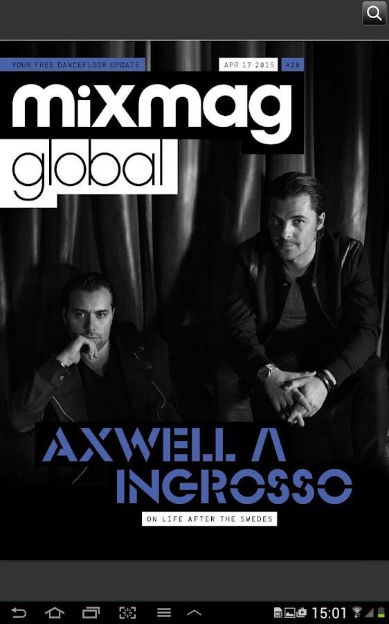 Mixmag Global - screenshot