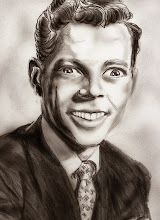 Photo: Drawing I did of a guy from a school yearbook.
